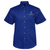 Blue Generation SS Teflon Treated Twill Shirt - Men's