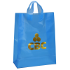 """Soft-Loop Frosted Shopper - 17"""" x 13"""" - Foil"""
