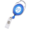 Clip-On Retractable Badge Holder - Translucent  - #7573-T