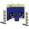 Deluxe Curved Floor Display - 10' - Header - Kit  - #100353-H-KIT