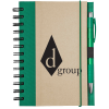 Recycled Color Spine Spiral Notebook  - #102833