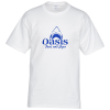 Hanes Tagless 6.1 oz. T-Shirt - Screen - White