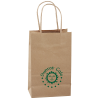 Kraft Paper Brown Eco Shopping Bag  8-1/4 x 5-1/4