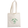 "Cotton Sheeting Natural Economy Tote - 12-1/2"" x 12"""