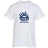 Gildan 6.1 oz. Cotton T-Shirt - Men's - Screen - White