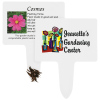 Compostable Seed Stakes - Cosmos