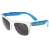 Neon Sunglasses w/White Frames
