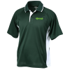 Tipped Color Block Wicking Polo - Men's