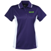 Tipped Color Block Wicking Polo - Ladies'  - #112084-L