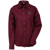Harriton Twill Shirt w/Stain Release - Ladies'