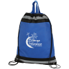 "Eagle Drawstring Backpack - 20"" x 16"" - 24 hr  - #110031-2016-24HR"