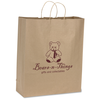 Brown Kraft Recycled Paper Bag  - 19-1/4