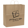 Brown Kraft Recycled Paper Bag  - 18-3/4