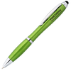 Curvy Stylus Twist Pen - Metallic
