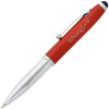iWrite Stylus Metal Pen w/Flashlight - Laser