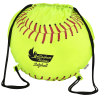 Game Time! Softball Drawstring Backpack - 24 hr