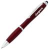 Curvy Stylus Twist Pen - Metallic - Gel