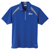 Quinn Color Block Textured Polo - Men's - TE Transfer