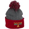 Pom Pom Knit Hat  - #121227
