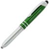 Mercury Stylus Metal Pen w/Flashlight - Laser Engraved