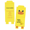 Paws and Claws Magnetic Bookmark - Duck