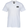 Hanes Nano-T 4.5 oz. V-Neck T-Shirt - Men's - White