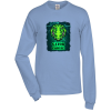 Adult 5.2 oz. Cotton Long Sleeve T-Shirt - Full Color