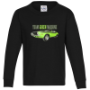 5.2 oz. Cotton Long Sleeve T-Shirt - Youth - Full Color