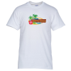 Gildan 5.3 oz. Cotton T-Shirt - Men's - Full Color - White
