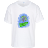 Gildan 5.3 oz. Cotton T-Shirt - Youth - Full Color - White