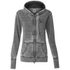 J. America Zen Full-Zip Hooded Sweatshirt - Ladies' - Screen
