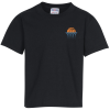 Jerzees Cotton T-Shirt - Youth - Colors - Embroidery