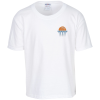 Jerzees Cotton T-Shirt - Youth - White - Embroidery