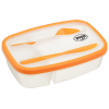 Food Container with Knife and Fork