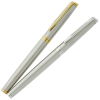 Waterman Hemisphere Rollerball Metal Pen - Stainless Steel