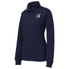 Feminine Fit 1/4 Zip Sweatshirt - Ladies' - Screen