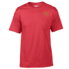 Gildan 5.6 oz. DryBlend 50/50 Pocket T-Shirt - Colors-Emb