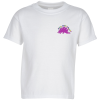 Hanes 50/50 ComfortBlend T-Shirt - Youth - White - Emb