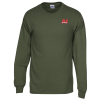 Gildan 6.1 oz. Ultra Cotton LS T-Shirt - Men's-Colors-Emb