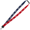Two-Tone Cotton Lanyard - 3/4