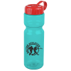 Olympian Sport Bottle with Tethered Lid-28 oz.