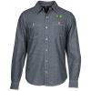 Washed Woven Double Pocket Shirt - Men's