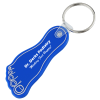 Foot Soft Key Tag - Opaque