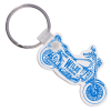 Motorcycle Soft Key Tag - Opaque