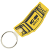 Safety Belt Soft Key Tag - Opaque