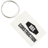 Small Rectangle Soft Key Tag - Opaque