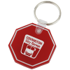 Stop Sign Soft Key Tag - Opaque