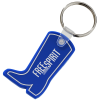 Western Boot Soft Key Tag - Opaque