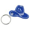 Western Hat Soft Key Tag - Opaque