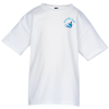 Hanes Nano-T T-Shirt Youth - White - Embroidered
